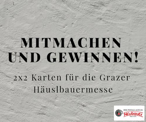 Karten für Grazer Häuslbauermesse gewinnen