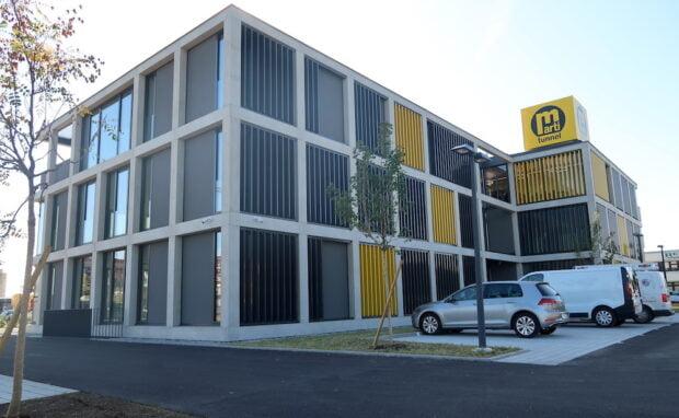 HLS-Installationen für Bürogebäude Marti in Graz