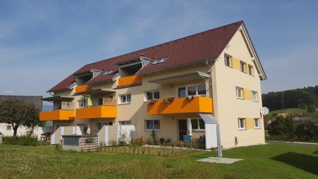 Heizung, Lüftung, Sanitär für Wohnanlage in Eggersdorf